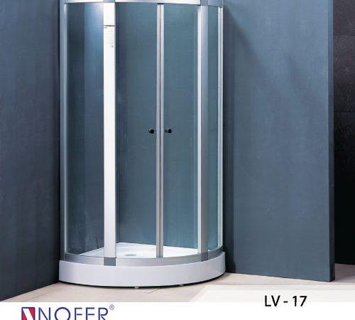 Phòng tắm vách kính LV-17