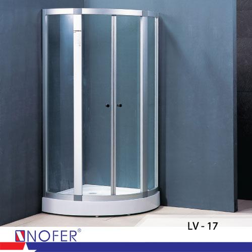 Phòng tắm vách kính Nofer LV-17