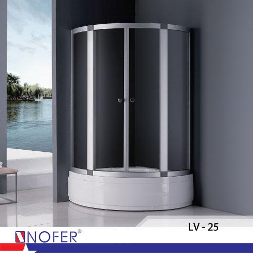 Phòng tắm vách kính Nofer LV-25