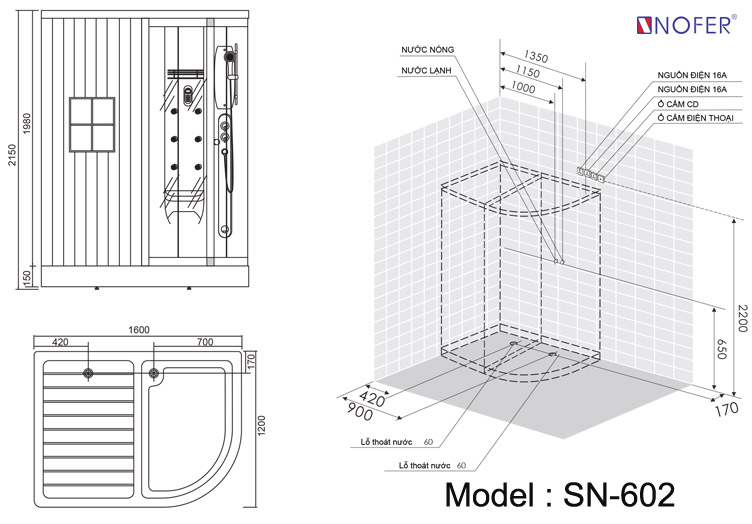 Bảng vẽ kỹ thuật SN-602