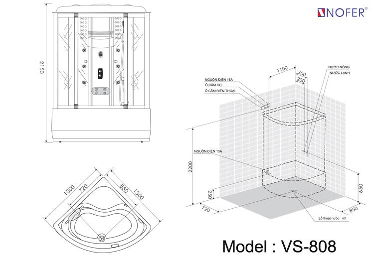 Bảng vẽ kỹ thuật VS-808