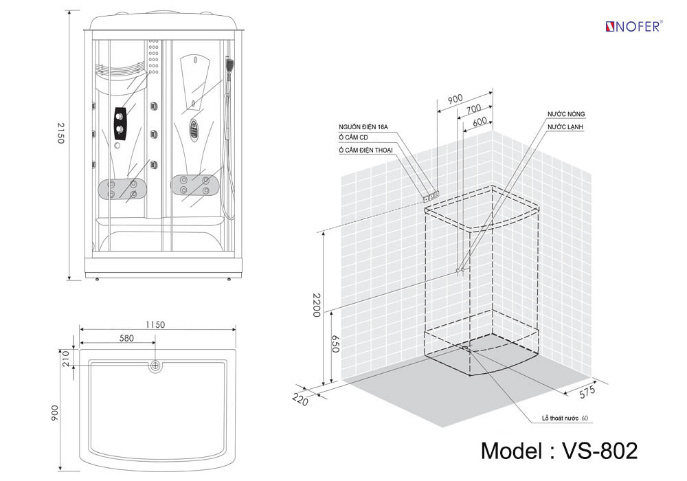 Bảng vẽ kỹ thuật VS-802