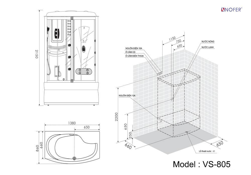 Bảng vẽ kỹ thuật VS-805
