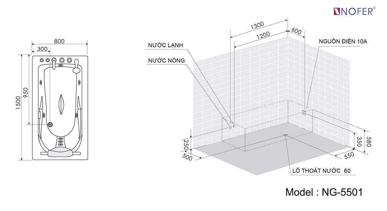 Bảng vẽ kỹ thuật NG-5501