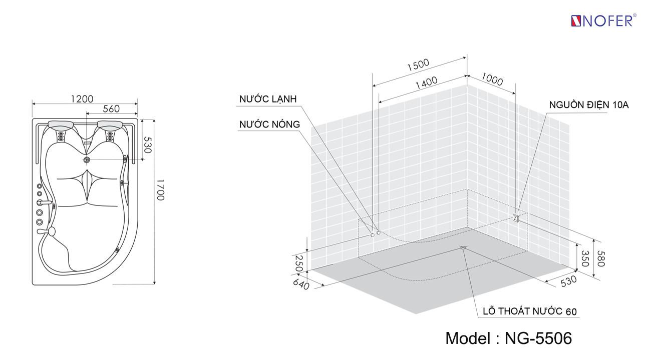 Bảng vẽ kỹ thuật NG-5506