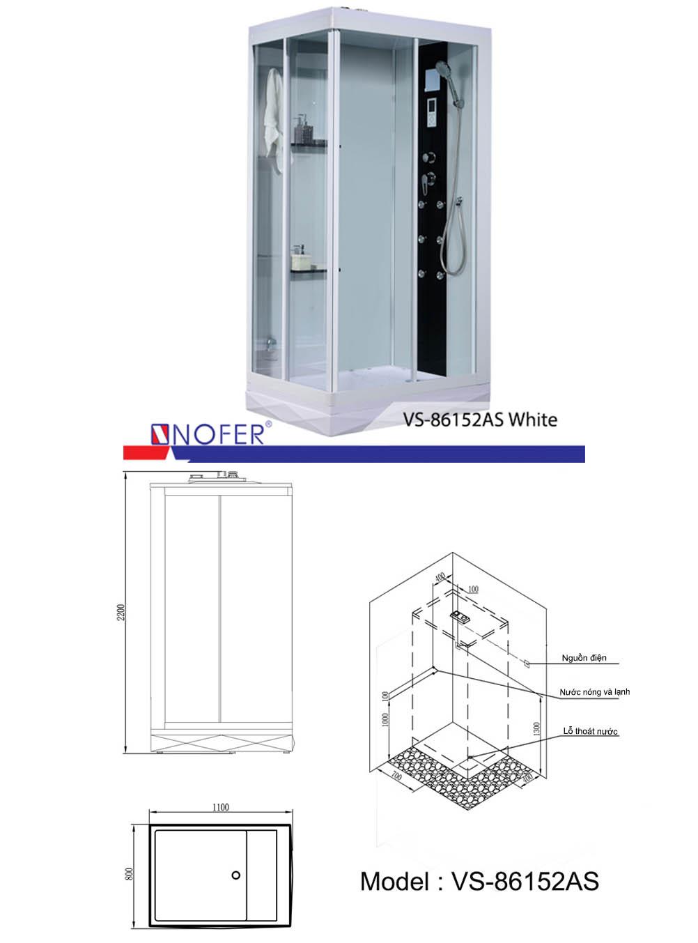 Phòng xông hơi VS-86152
