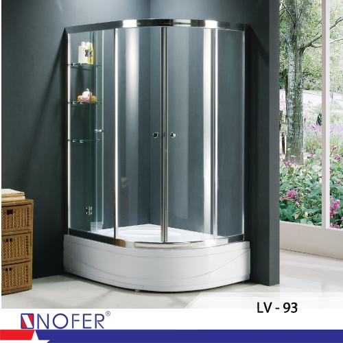 Phòng tắm vách kính - Thương hiệu Nofer Việt Nam