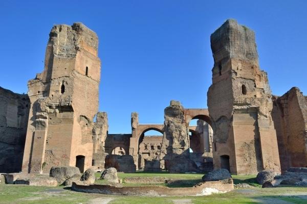 Nhà tắm Caracalla - La Mã