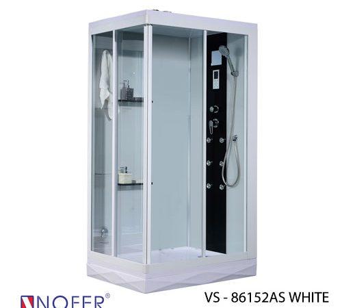 Phòng xông hơi VS-86152AS White/Black