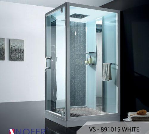 Phòng xông hơi VS-89101S (R) White/Black