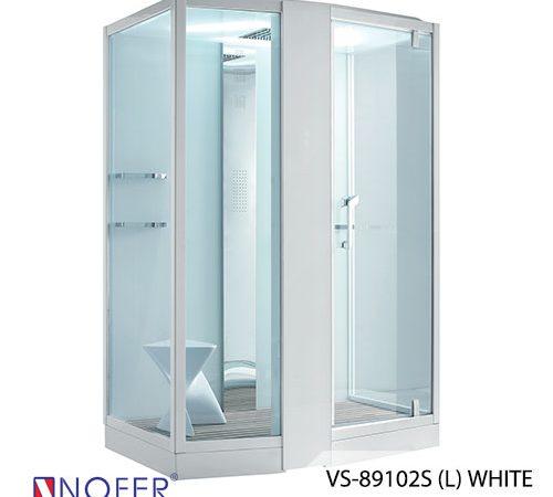 Phòng xông hơi VS-89102S (L) White/Black