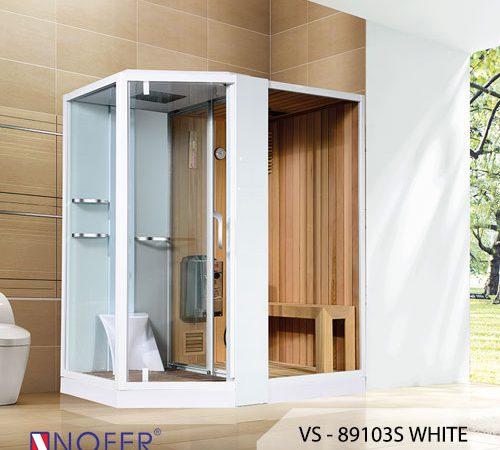 Phòng xông hơi VS-89103S (R/L) White/ Black