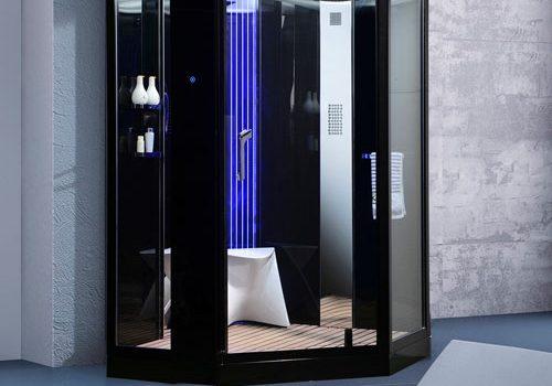 Phòng tắm xông hơi đa năng VS-89106S màu đen