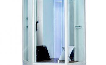Phòng tắm xông hơi đa năng VS-89106S màu trắng