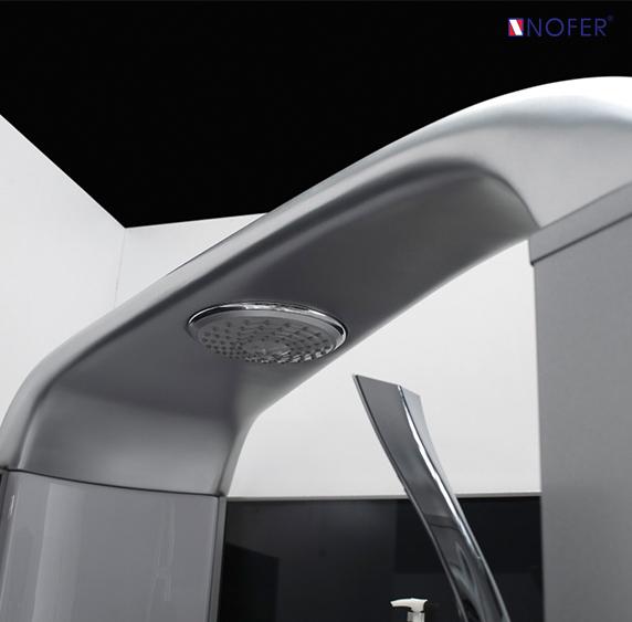 Sen trần của bồn tắm massage Nofer NG-9501