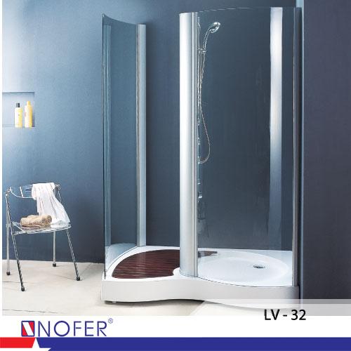 Phòng tắm vách kính LV-32- Thương hiệu Nofer