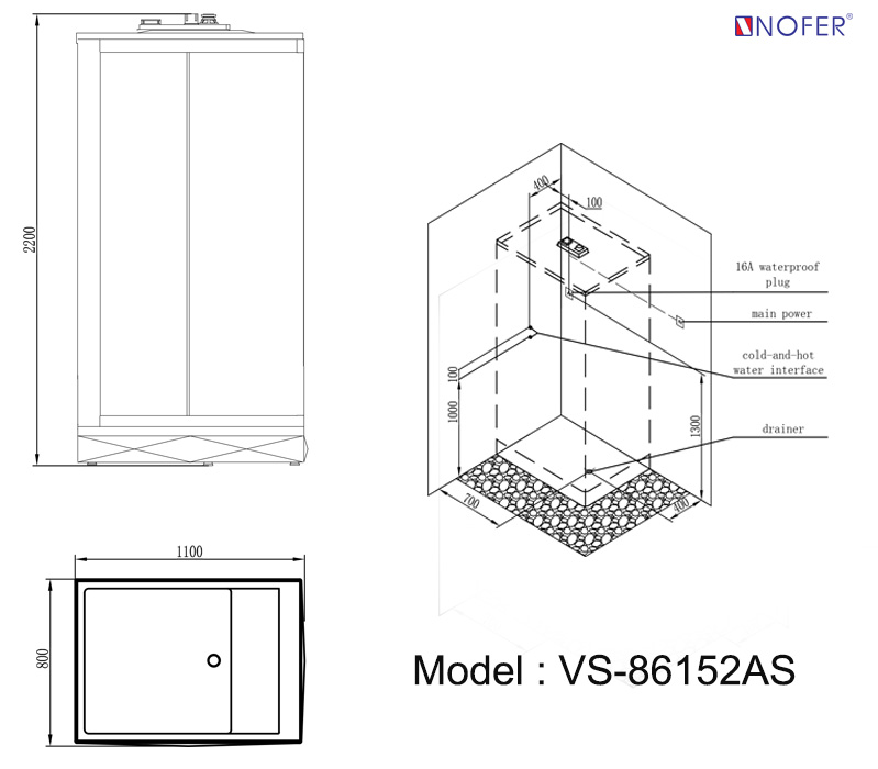Bảng vẽ kỹ thuật VS-86152AS
