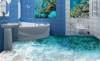 Siêu phẩm phòng tắm 3D
