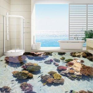 Gạch 3D có hình san hô