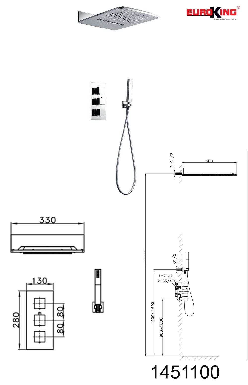 Bảng vẽ kỹ thuật EU-1451100