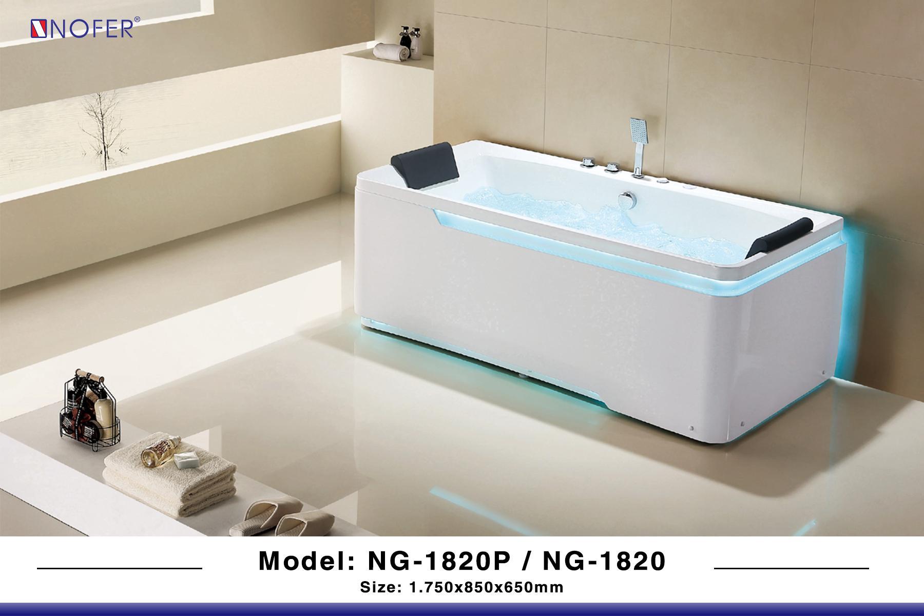 Bồn tắm massage NG-1820P/NG-1820