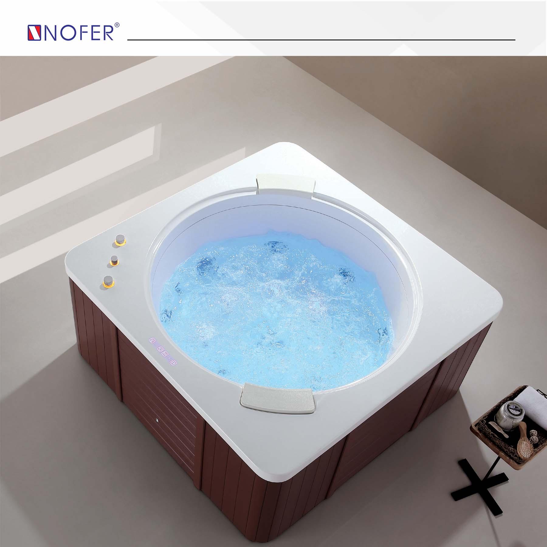 Hoạt động của bồn tắm massage NG-7400