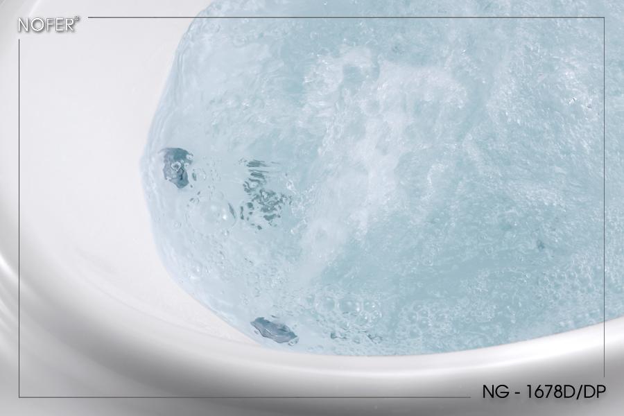 Hệ thống massage của bồn tắm NG-1678D/DP