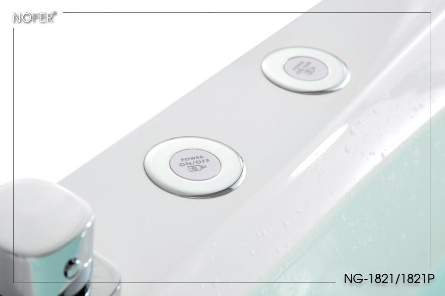 Nút điều chỉnh các mắt sục và sủi