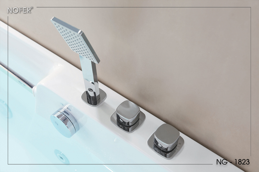 Hệ thống sen tay và điều chỉnh nước trong bồn tắm NG-1823