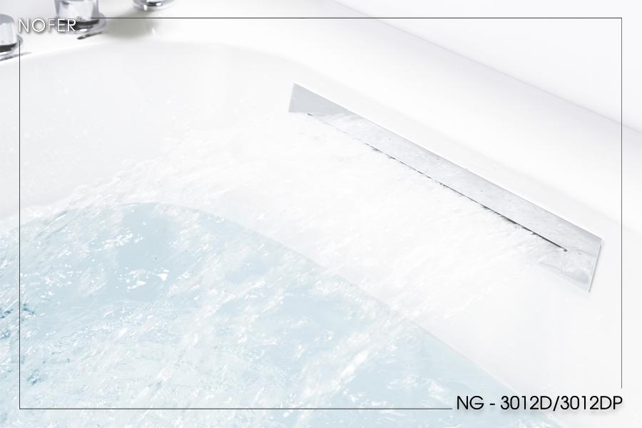 Khe cấp nước tạo thác nước cho bồn tắm