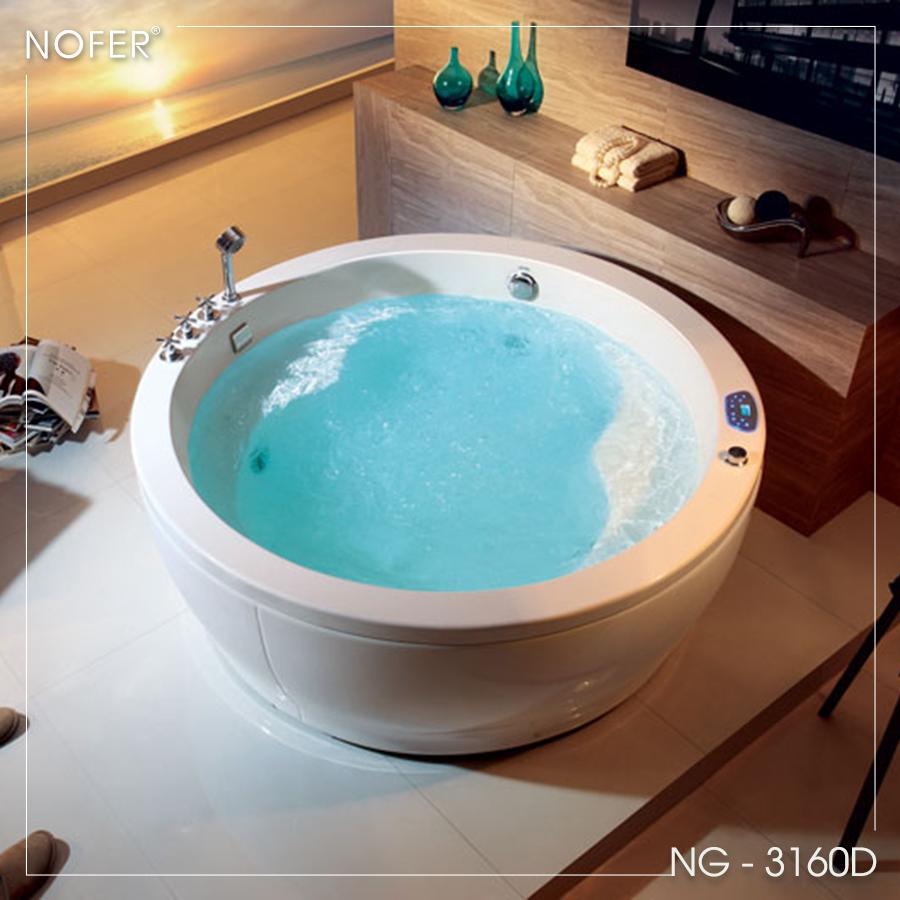 Thiết kế đặt sàn của bồn tắm NG-3160D
