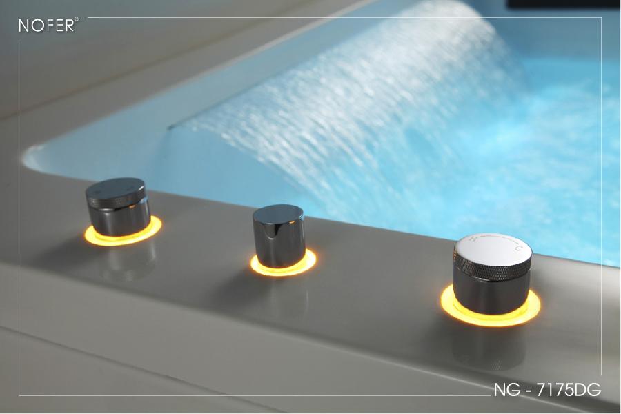 Bộ điều khiển vòi sen của bồn tắm massage NG-7175DG
