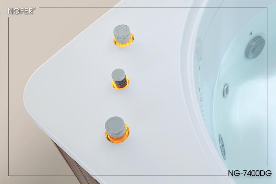 Hệ thống điều chỉnh vòi sen được sử dụng công nghệ Pop up hiện đại