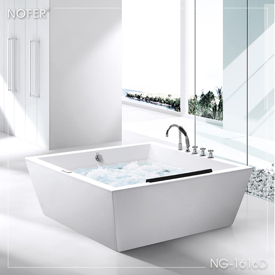 Hình ảnh tổng thể bồn tắm massage NG-1616D
