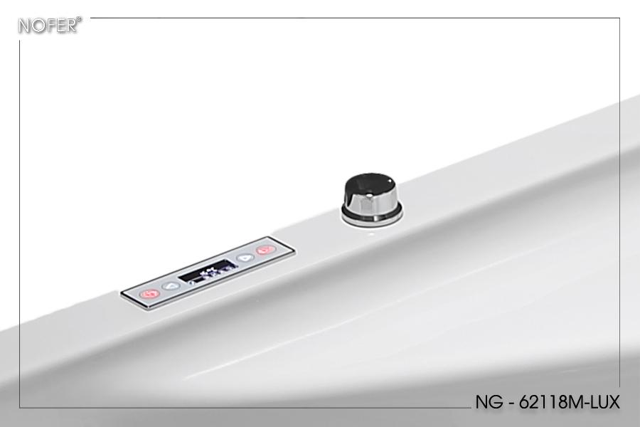 Thiết kế đặc biệt của bồn tắm massage NG-62118M-LUX