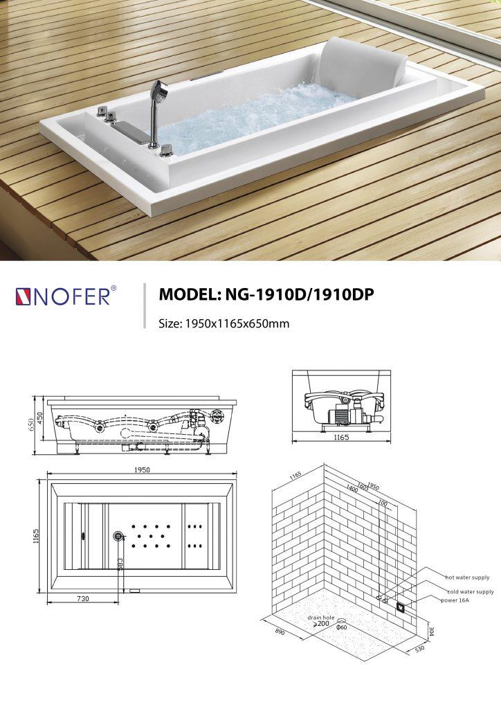 NG-1910D/DP âm sàn