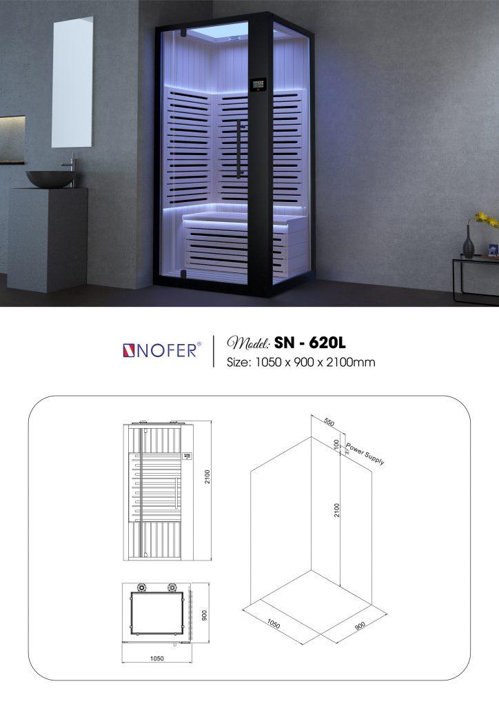phòng xông hơi SN-620